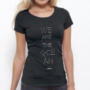 Camiseta Mujer manga corta We are the Ocean