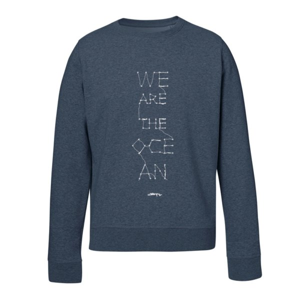 Sudadera Unisex algodón orgánico We are the Ocean