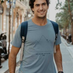 Camiseta Hombre Save this Area for the Earth
