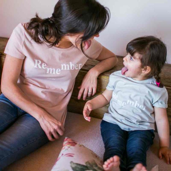 Camiseta Madre Hija Remember Me Alzheimer