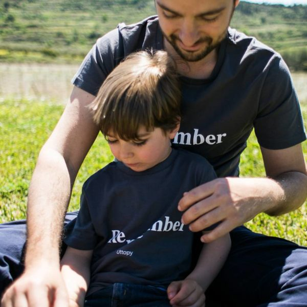 Camiseta Padres Hijos Remember Me Alzheimer