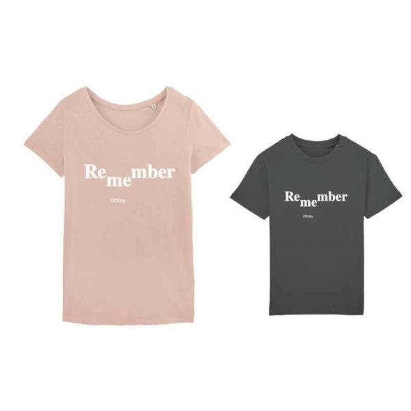 Camisetas Iguales Madres e Hijos Remember Me