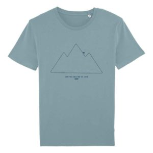 Camiseta Solidaria Hombre Save this Area for the Earth