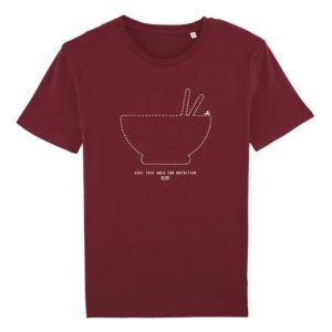 Camiseta Solidaria Hombre Save this Area for Nutrition