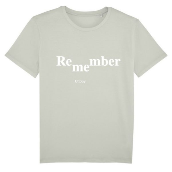 Camisetas con Mensaje Solidarias Remember Me Alzheimer 28 Hombre