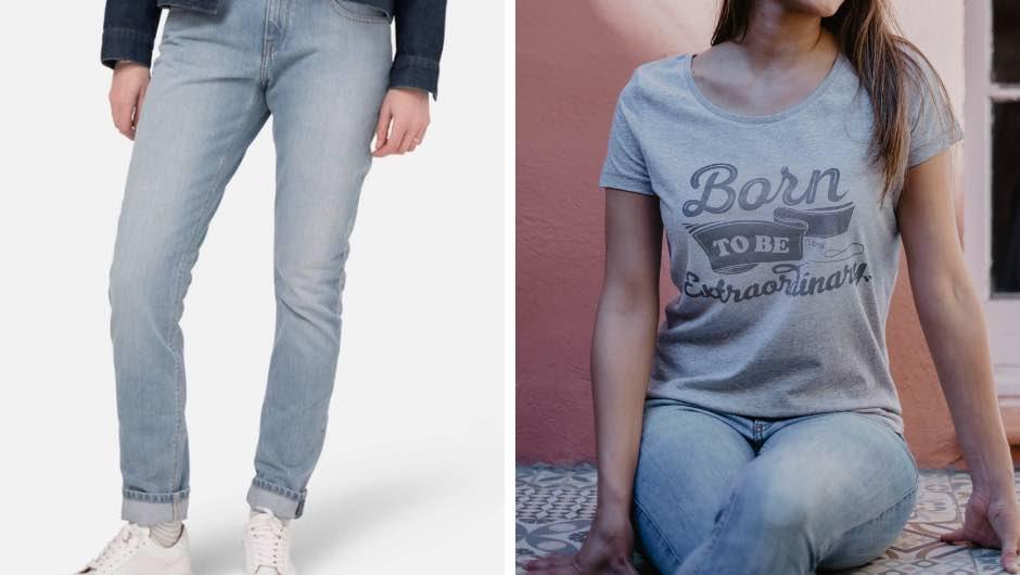 Ideas para Vestir con Tejanos Mudjeans y Camisetas Sostenibles Uttopy17