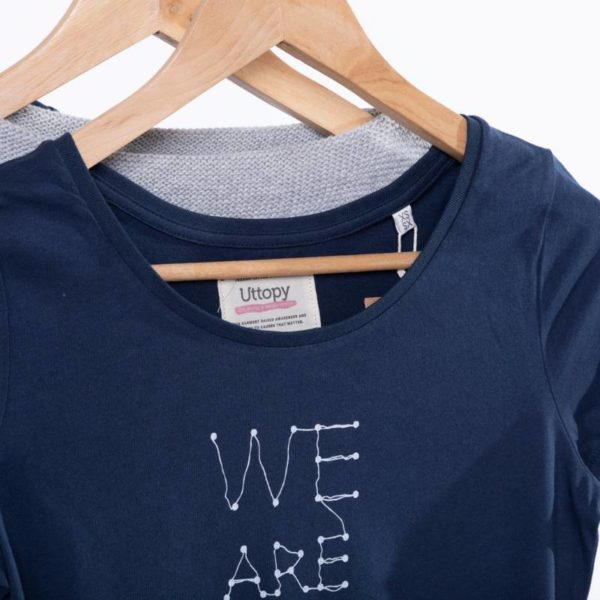 Camiseta Mujer Azul We are the Ocean