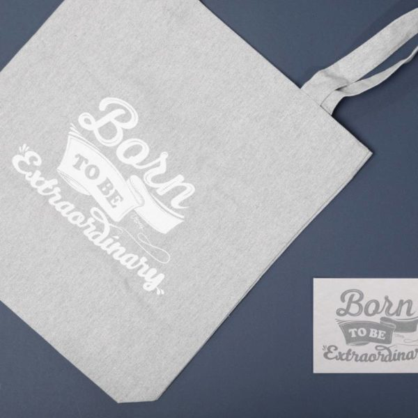 Tote Bag Diseño Born to Be Extraordinary