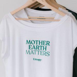 "Camiseta con Mensaje Solidaria ""Matter"""