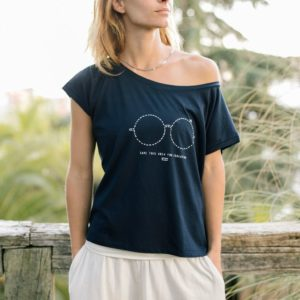 Camiseta Solidaria Oversized Mujer
